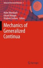 A Historical Perspective of Generalized Continuum Mechanics