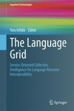 The Language Grid: Service-Oriented Approach to Sharing Language Resources