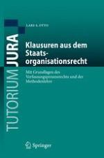 A. Einleitende Bemerkungen: Studienbeginn, Rechtstheorie und Methodenlehre