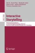 Research in Interactive Drama Environments, Role-Play and Story-Telling