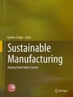 Sustainable Manufacturing for Global Value Creation