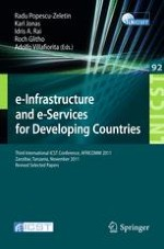 Scenario to Serve Remote Areas in Emerging Countries with the Village Internet Service Station
