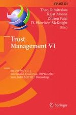 Co-evolving Trust Mechanisms for Catering User Behavior