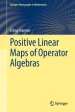 Generalities for Positive Maps