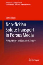Non-fickian Solute Transport