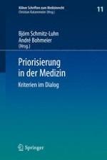 Kriterien der Priorisierung medizinischer Leistungen – Maßgaben des Rechts