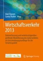 Ermittlung von Wirkungen von IT-Anwendungen auf die Infrastrukturnutzung durch den Güterverkehr in der Schweiz