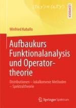 Distributionen und Differentialoperatoren
