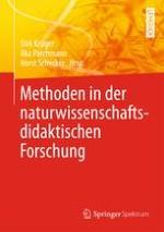 Formate und Methoden naturwissenschaftsdidaktischer Forschung