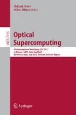 Quantum Optical Transient Encryption and Processing