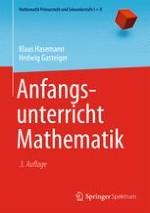Die Entwicklung des mathematischen Verständnisses bis zum Schulbeginn