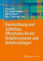Raumordnung und Städtebau, Öffentliches Baurecht