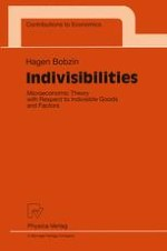Microeconomic Theory with Respect to Indivisibilities