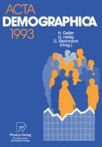 """Bericht über die 27. Jahrestagung der Deutschen Gesellschaft für Bevölkerungswissenschaft vom 25. bis 27. Februar 1993 in Bad Homburg v.d.Höhe zum Thema """"Die älter werdende Gesellschaft"""""""