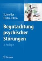 Grundlagen psychiatrischer Begutachtung