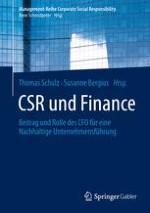 CFO-Agenda: Gute Gründe, Nachhaltigkeit auf die Tagesordnung zu setzen