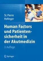 """Risikofaktor Mensch? """"Human Factors"""" und Fehler in der Akutmedizin"""