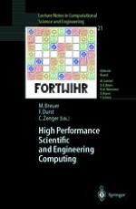Large-Scale Fluid-Structure Interaction Simulations Using Parallel Computers