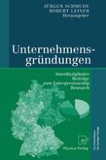 Gründungen in Deutschland: Datenquellen, Niveau und räumlich-sektorale Struktur