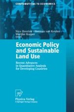 Economic Policy Reforms and Sustainable Land Use in Developing Countries: Issues and Approaches