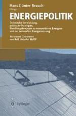 Energiepolitik im Zeichen der Klimapolitik beim Übergang zum 21. Jahrhundert
