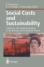 Social Costs and Sustainability — an Overview