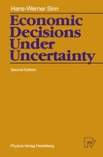 The Object of Choice under Uncertainty
