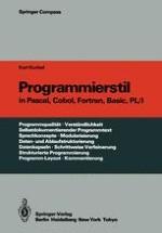 Programme und Programmiersprachen