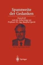 Ein Externer promoviert: Manfred Specht