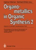 Organic Syntheses via Organometallics