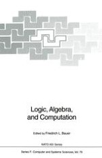 Theory of Computation and Specification over Abstract Data Types, and its Applications