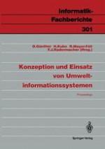 Zur Rahmenkonzeption Des Umweltinformationssystems Baden-Württemberg