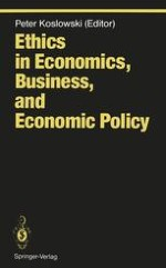 Ethics in Economics, Business, and Economic Policy Introduction
