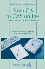 The Information System of the Chemical Abstracts Service