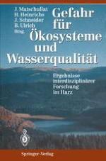 Ökosystemare Grundlagen — Stoffhaushalt von Waldökosystemen und Gewässerqualität