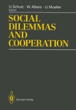 Social orientation analysis of the common and individual interest problems