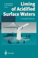 Liming of surface waters in Sweden — a synthesis
