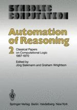 Automated Theorem Proving 1965–1970