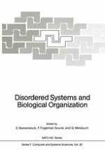 Cellular Automata Models of Disorder And Organization