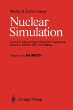 Experience with Simulation of Nuclear Systems on Parallel Processing Computer Systems