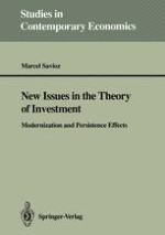 New Issues in the Theory of Investment: Modernization and Persistence Effects