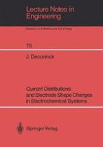 The Current Distribution in Electrochemical Systems
