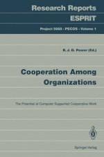 Cooperative work in organizations