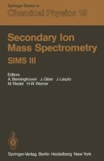 Instrumental Aspects of Spatially 3-Dimensional SIMS Analysis