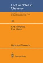 Hypervirial Theorems. Development and Applications of the Hypervirial Methodology to Solve Quantum Chemistry Models