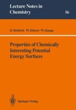 GuideLines in the Development of the Theory of Chemical Reactivity Using the Potential Energy Surface (PES) Concept