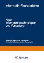 Neue Informationstechnologien und Verwaltung (Begrüßung)