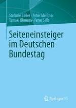 Seiteneinsteiger im Deutschen Bundestag – kaum vertreten,chancenarm,aber erwünscht?