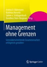 Zum Management grenzüberschreitender Zusammenarbeit