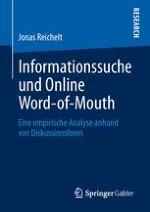 """Einleitung: Einordnung des Forschungsfeldes """"Online Word-of-Mouth"""" und dieser Arbeit"""